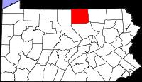 Tioga County, Source: http://upload.wikimedia.org/wikipedia/commons/thumb/4/4c/Map_of_Pennsylvania_highlighting_Tioga_County.svg/200px-Map_of_Pennsylvania_highlighting_Tioga_County.svg.png