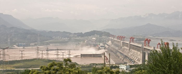 Marshall Segal, Three Gorges Dam in 2008. September 1, 2008, Digital Image. Available at https://www.flickr.com/photos/marshallsegal/6877462269 (accessed November 29, 2014).