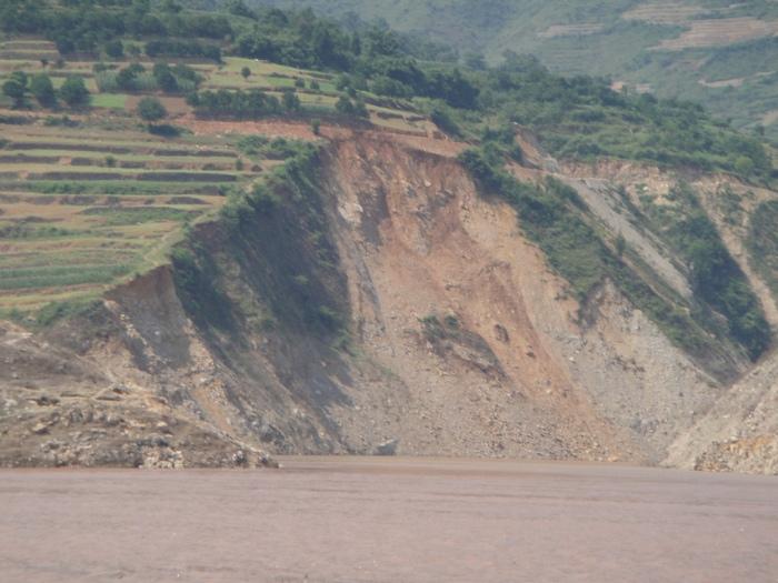 International Rivers, Three Gorges Landslide. July 2, 2009, Digital Image. Available at https://www.flickr.com/photos/internationalrivers/5170456438/ (accessed November 28, 2014).