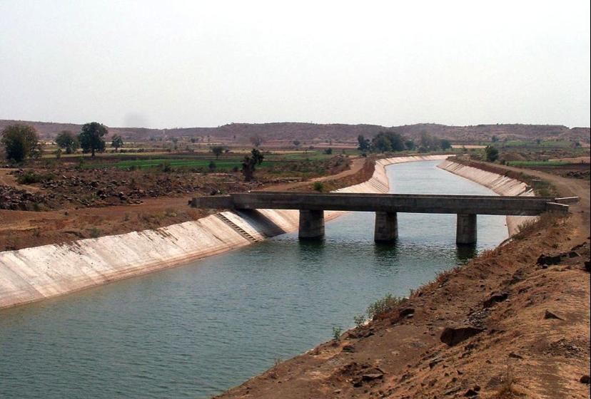 """Sardar Sarovar Canal with flow"" (Nvvchar 2008)"