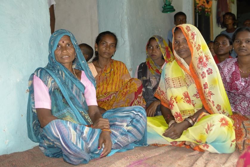 """Women in Adivasi Village, Umaria District, India"" (Yann 2010)"