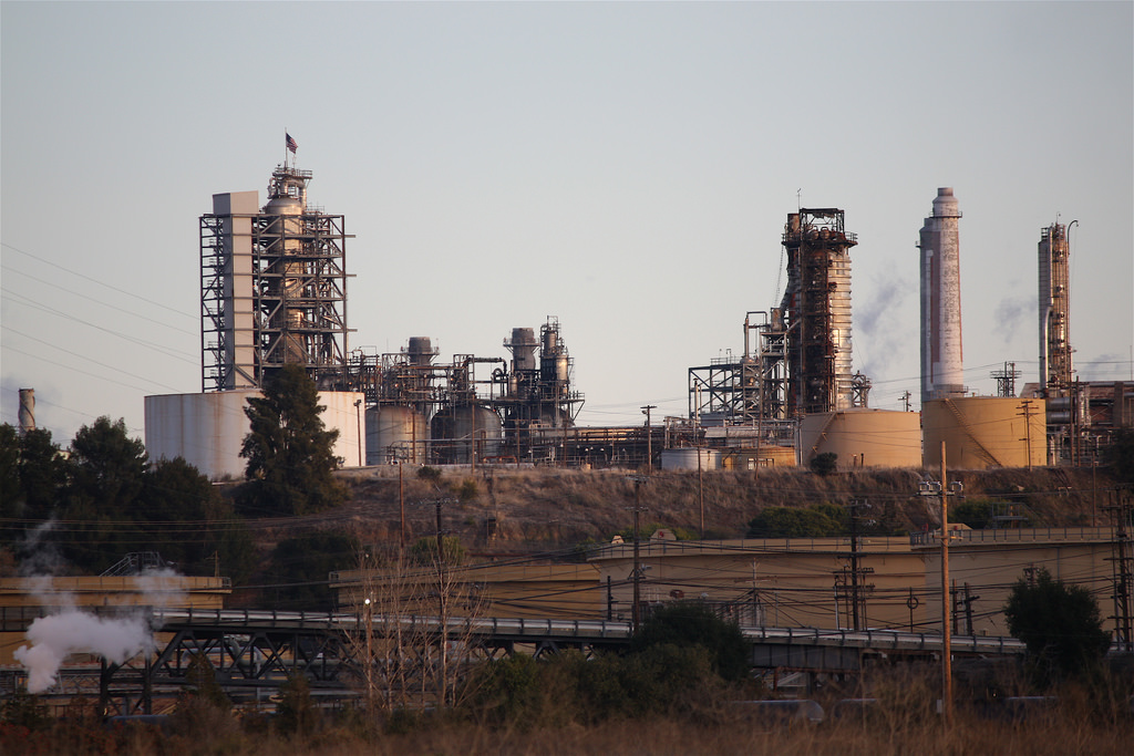 Shell Oil Refinery ,Martinez